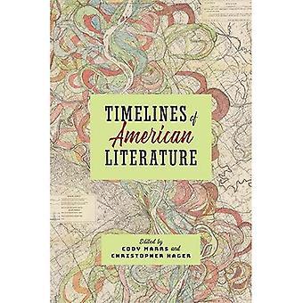 Líneas de tiempo de la literatura norteamericana