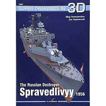 The Russian Destroyer Spravedlivyy (Super Drawings� in 3D)