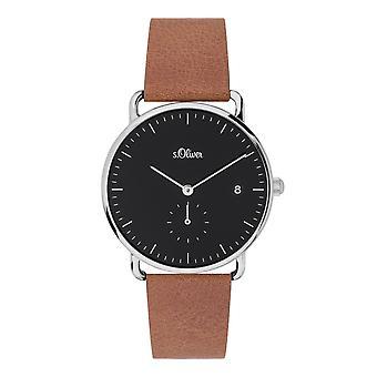 s.Oliver women's watch wristwatch leather SO-3716-LQ