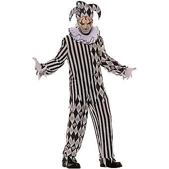 Evil Harlequinn Adult Costume