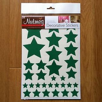 STARS VARIOUS SIZES DECORATIVE STICKERS