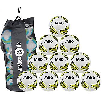 10 x James youth ball match 2.0 includes ball sack