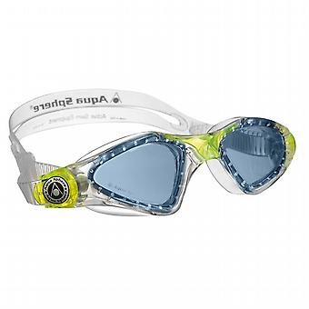 Aqua Sphere Kayenne Junior Goggle - Blue Lens - Clear/Green