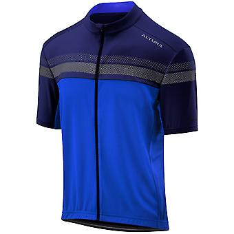Altura Blue-Blue 2019 Nightvision Short Sleeved Cycling Jersey