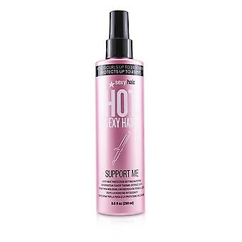 Sexy Hair Concepts Hot Sexy Hair Support Me 450ºF Heat Protection Setting Hairspray 250ml/8.5oz