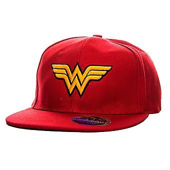 Wonder Woman Wings Logo Snapback Cap