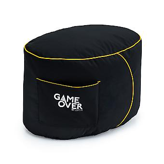 GAME OVER Mystic Medallion (Gelb) Bean Bag Gaming Foothocker Pouffe