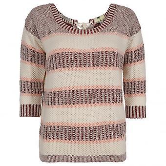 Maison Scotch Stripy Chunky Knit, Colour A