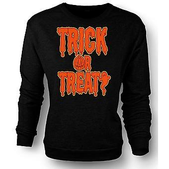Kids Sweatshirt Trick Or Treat - Funny Halloween