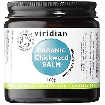 Viridian Chickweed Organic Balm 100g (682)