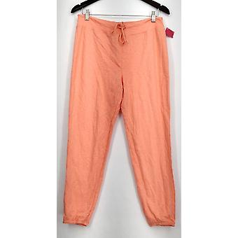 Xhilaration Pull-on Knit Loungewear Pajama Pants Orange Womens