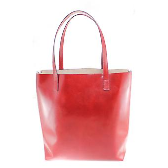 Leather shoulder bag Made in Italy 9006