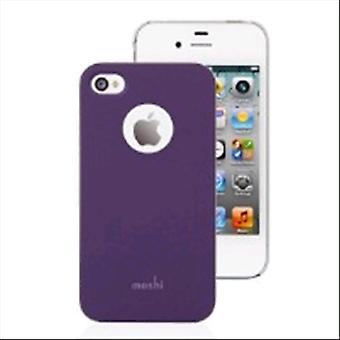 Moshi i-glaze tyrian purple cover i-phone 4/4s