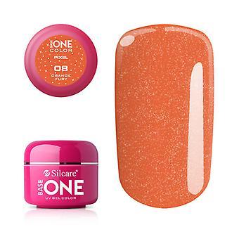 Base one-Pixel-Orange fury 5 g UV-gel