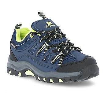 Trespass Boys Gillon Low Cut Durable Cushioned Walking Shoes
