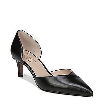 Franco Sarto Womens Daisi Leather Pointed Toe D-orsay Pumps
