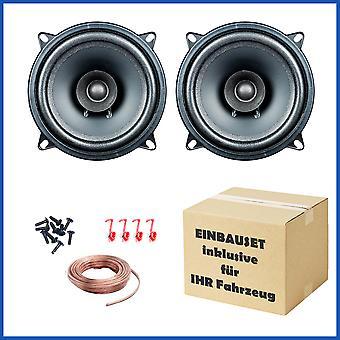 1 paar PG audio EVO ik 13.2, 13 cm dubbele conus luidsprekers geschikt voor Alfa Romeo, Fiat, Saab, smart