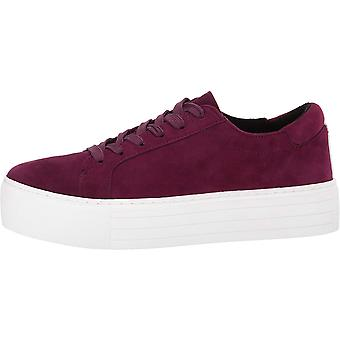 Kenneth Cole New York Women's Abbey Platform LACE UP Sneaker Suede