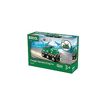 Brio 33214 Brio Green Battery Powered Freight Engine