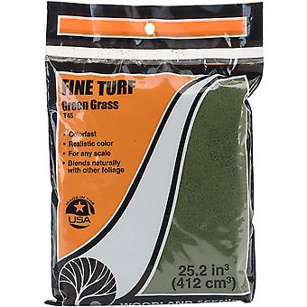 Turf 18 To 25.2 Cubic Inches-Green Grass - Fine TTURF-T45