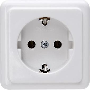 Kopp PG socket Standard surface-mount Arctic white 101802000
