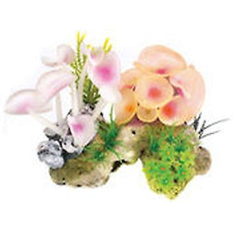 Classic For Pets Coral Stone/Anemone  2pcs (Fish , Decoration , Ornaments)