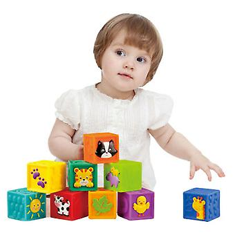 Little Hero Soft cubes with Illustrations (Toys , Preschool , Babies , Stackable Toys)