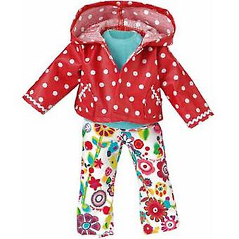 Kathe Kruse Colorful Rain Suit (Toys , Dolls And Accesories , Baby Dolls , Clothing)