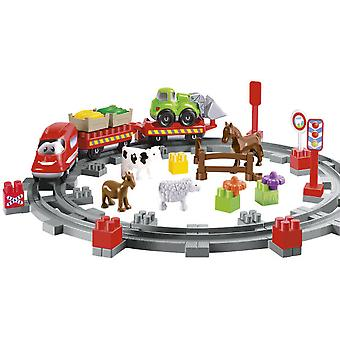 Smoby Train of the farm Toy (Jouets , Constructions , Véhicules)