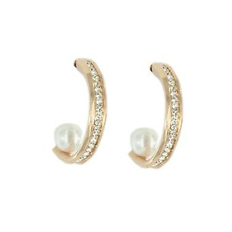 Skagen women's earrings SHINY rose gold JESR038
