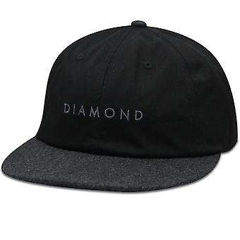 Diamond Supply Co Leeway Snapback Black