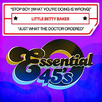 Little Betty Baker - Stop Boy (What You're Doing Is Wrong) / Just What USA import