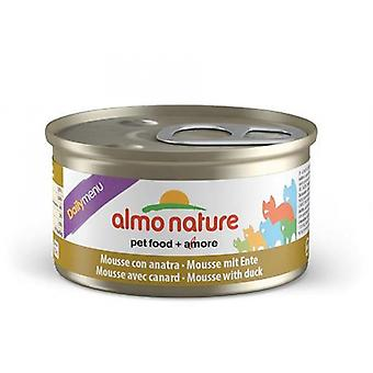 Almo Nature Daily Menu Cat Mousse With Duck 85g (Pack of 24)