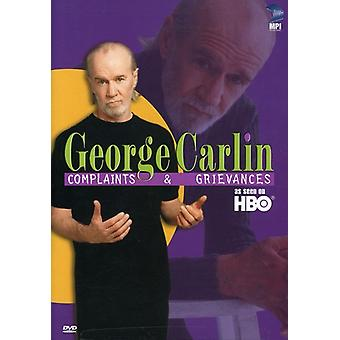 George Carlin - George Carlin: Complaints & Greviances [DVD] USA import
