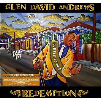 Glen David Andrews - forløsning [CD] USA import