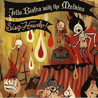 Jello Biafra & Melvins - Sieg Howdy [CD] USA importerer