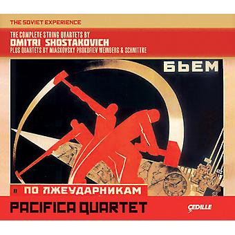 Sjostakovitj/Pacifia Qrt - Comp Str Qrts af Dmitri Shostkovich [CD] USA import