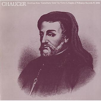 Victor L. Kaplan - Chaucer: Readings From Canterbury Tales [CD] USA import