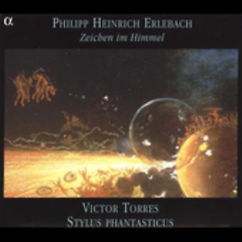 P. Erlebach - Philipp Heinrich Erlebach: Zeichen Im Himmel [CD] USA import