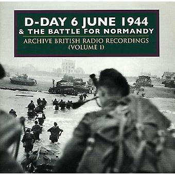 D-Day & Normandiet-D-Day & Normandiet: Vol. 1-D-dag kampen om Normandiet June1944 [CD] USA importen