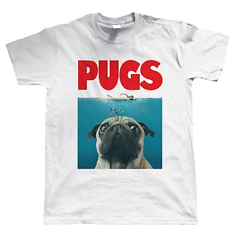 Vectorbomb, PUGS, Mens Funny parodie T-Shirt
