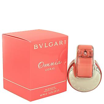 Bvlgari Women Omnia Coral Eau De Toilette Spray By Bvlgari