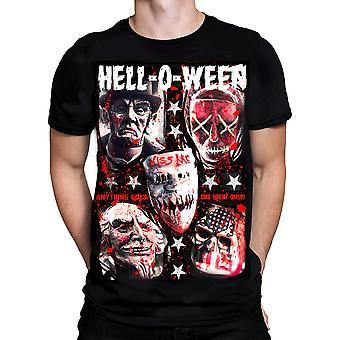 KND - HELL-O-WEEN - Men's T-Shirt - Black