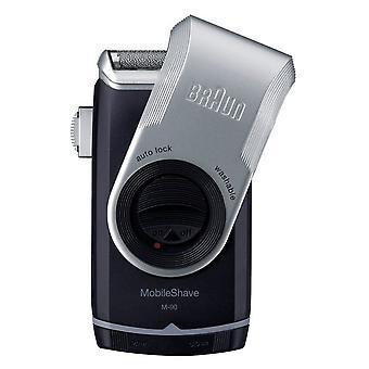 Braun Mobile barbermaskin med •Presisjonstrimmer (M-90)