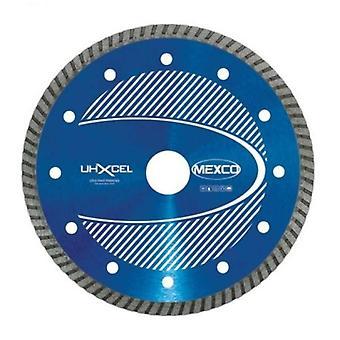 Mexco 115Mm materiales duros Ultra Xcel grado hoja de diamante