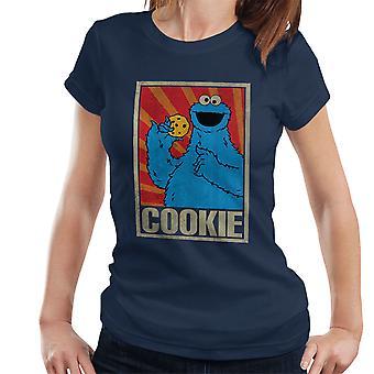 Sesam straat Cookie Monster Sovjet-Women's T-Shirt