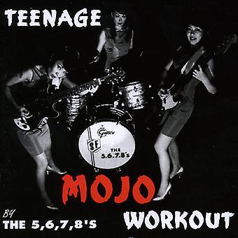 5 6 7 8's - teenage Mojo træning [CD] USA import