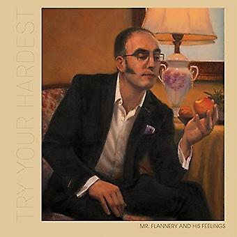 Mr.Flannery & hans følelser - Prøv din hårdest [Vinyl] USA importerer