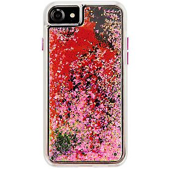 Case-Mate Naked Tough Glow Waterfall iPhone 8/7/6s/6 Case - Pink
