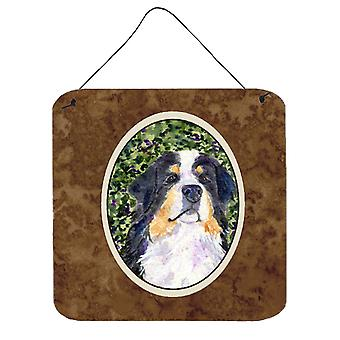 Bernese Mountain Dog Aluminium Metal Wall or Door Hanging Prints